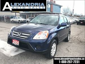 2005 Honda CR-V EX-L 119km safety included