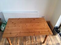 Large Pine Dining Table Good Condition