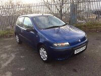 2003 (03) FIAT PUNTO 1.2 ACTIVE 3 DOOR HATCH BACK NEW MOT FULL SERVICE HISTORY ONLY 76000 MILES