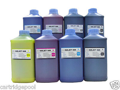 8 Quart  Pigment refill ink for Epson Pro 4880 Wide-format printer, used for sale  Shipping to Canada