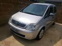 Vauxhall meriva 1.6 8v