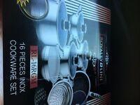 16 piece inox cookware set