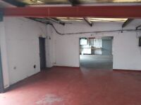 1,080 sqft Light Industrial Unit with Yard to Let near Dudley