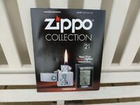 ZIPPO LIGHTER on MAGAZINE Issue No: 21 ( collectors)