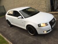 Audi A3 sline 2.0 tdi 6 speed 18 inch bbs alloys full leather 9 month Mot Engine replace warranty px