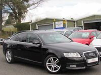2009 AUDI A6 2.0 TDI SE 2 OWNERS 80044 MILES SAT NAV FULL LEATHER FULL SERVICE HISTORY IMMACULATE
