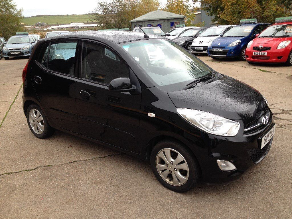 11 PLATE HYUNDAI I10 1.2 5DR STYLE 23000MILES FSH 1 OWNER £20ROAD TAX 50+MPG £3975