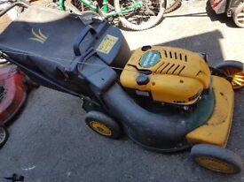 Yardman petrol mower spares and repairs