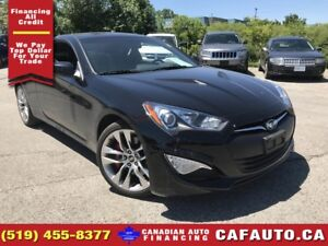 2016 Hyundai Genesis Coupe 3.8 R-Spec | LEATHER | LOW KMS