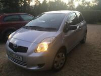 Toyota Yaris 1.0 engine, 57 plate, mot'd, low mileage
