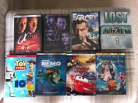 Job Lot DVDs - Region 1 - Simpsons & Disney