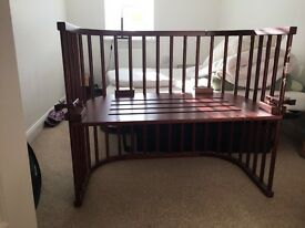 Baby bay co sleeper cot and mattress