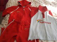 Rainbows uniform