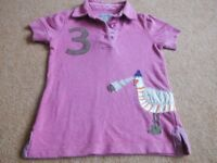 CHILD'S JOULES POLO SHIRT. AGE 5 YEARS.