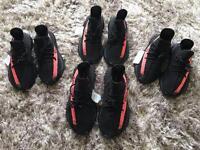 Yeezy Boost 350 V2 Black & Red UK 8 & 9