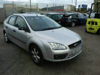 2005 FORD FOCUS MK2 MK3 1.6 PETROL SILVER BONNET WING MIRROR DOOR BUMPER HEADLIGHT ENGINE GEARBOX