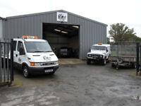 Car Recovery / Transport/ Nationwide : Badgers 4x4 Ltd . North Devon based.