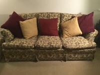 Vintage Tulley's of Chelsea Four Piece Sofa Suite
