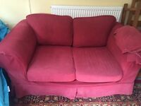 Sofa and Sofa bed pair For Sale