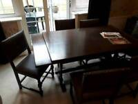 Jaycee oak Table and chairs