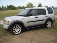(SUPERB) LANDROVER DISCOVERY 3 TDV6 2.7td DIESEL TOP HSE SPEC 7 SEATER FULL LEATHER 05 REG £4199 P/X