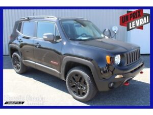 2018 Jeep Renegade Trailhawk +Navigation, Hitch+