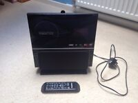 Stereo iSymphony V1BLUEe with bluetooth, cd, aux, memory card and usb ports