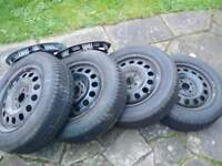 Tyres and rims. 175/65/15