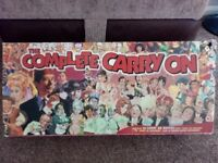 Classic Carry On VHS box set with 30 films and movie postcards