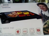 table top family grill