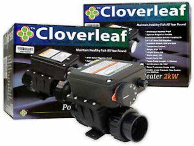 Cloverleaf Pond Heaters 1kW Weatherproof Temperature Control Healthy Fish