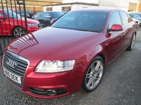 Audi A6 2.0 TDI 170 S LINE SPECIAL EDITION LE MANS 4dr + FULL SERVICE HISTORY (red) 2010