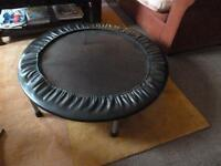 mini trampoline 102cm diameter, 22cm height
