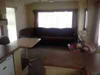 2 bed static caravan for rent