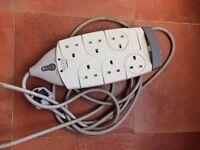 Belkin Surgemaster surge protector socket extension lead, 6 sockets