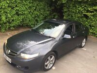 HONDA ACCORD 2.2 CDTI, GREY, FULL BLACK LEATHER INTERIOR, SAT NAV, EXCELLENT CONDITION