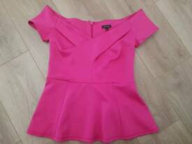Size 10 top River Island