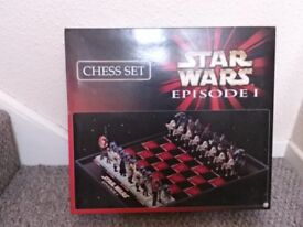Star Wars Episode 1 Phantom Menace Chess set