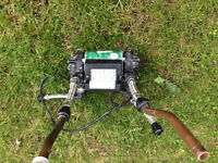Salamanda Power shower pump CT 50 twin max 1.5 bar static head removed proffessionally
