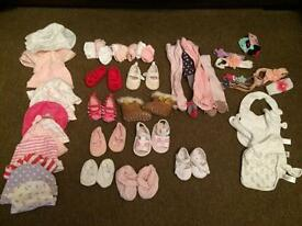 Bundle newborn 0-3 girls clothes