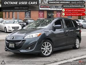 2012 Mazda Mazda5 GT Accident Free! One Owner!