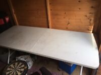 Folding large table for sale