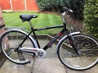 adults probike discovery hybrid road bike hardly used