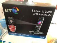 BT Telephone BT8600 ADVANCE CALL BLOCKER