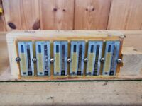 Hohner C/F, Club II, Reeds And Blocks, Valved And Tuned.