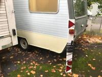 Vintage sprite alpine caravan . Easy project - also catering van / storage / shed / spare room