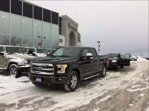 2015 Ford F-150 Lariat 4x4, Navi, ONE OWNER, Clean Carproof