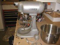 Hobart N 50, 5 Quart counter top food food mixer