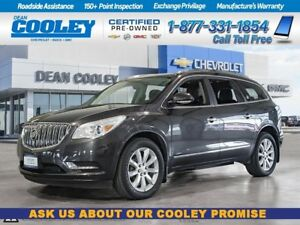 2015 Buick Enclave Premium/Sunroof/DVD/Nav/Htd & Cooled Leather