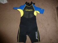 childrens wet suit